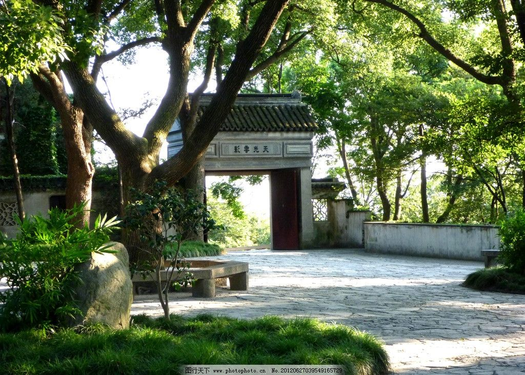 苏州园林 苏州 园林 公园 江南 花园 院子 庭院 园艺 拱门 景观设计