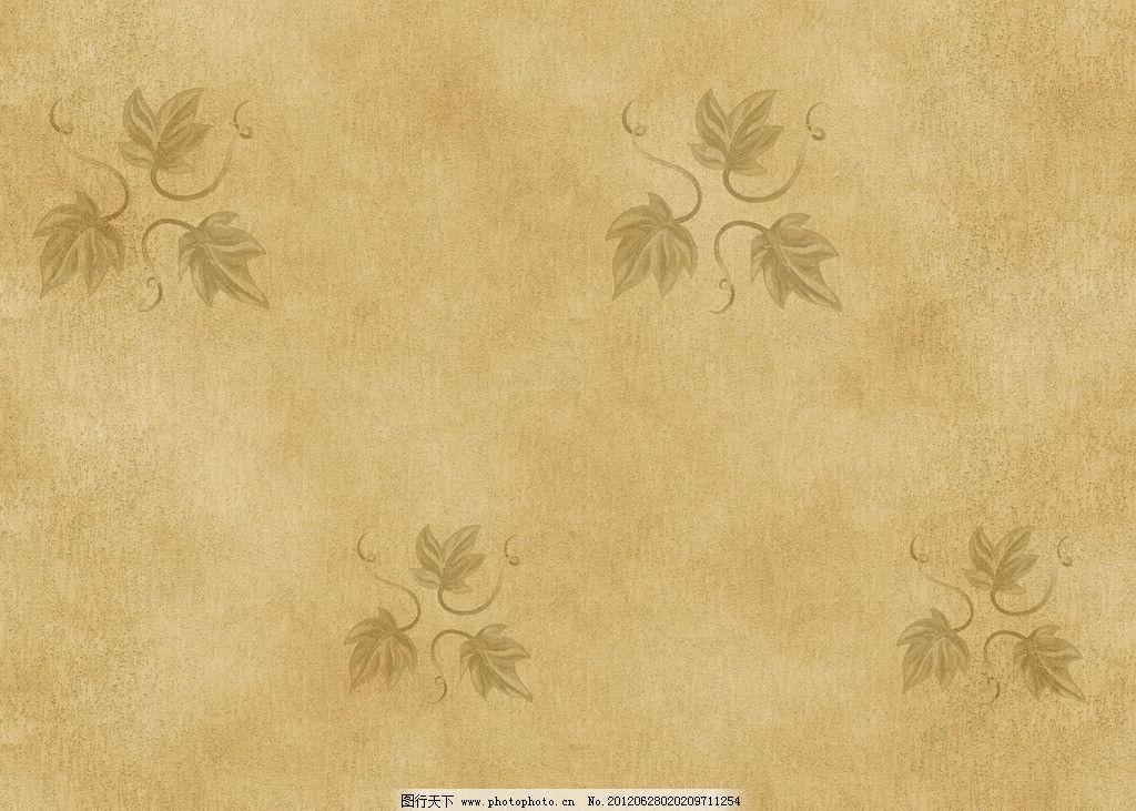 叶子墙纸 3d设计 贴图 墙纸 树叶 黄色 素材 背景底纹 底纹边框 设计