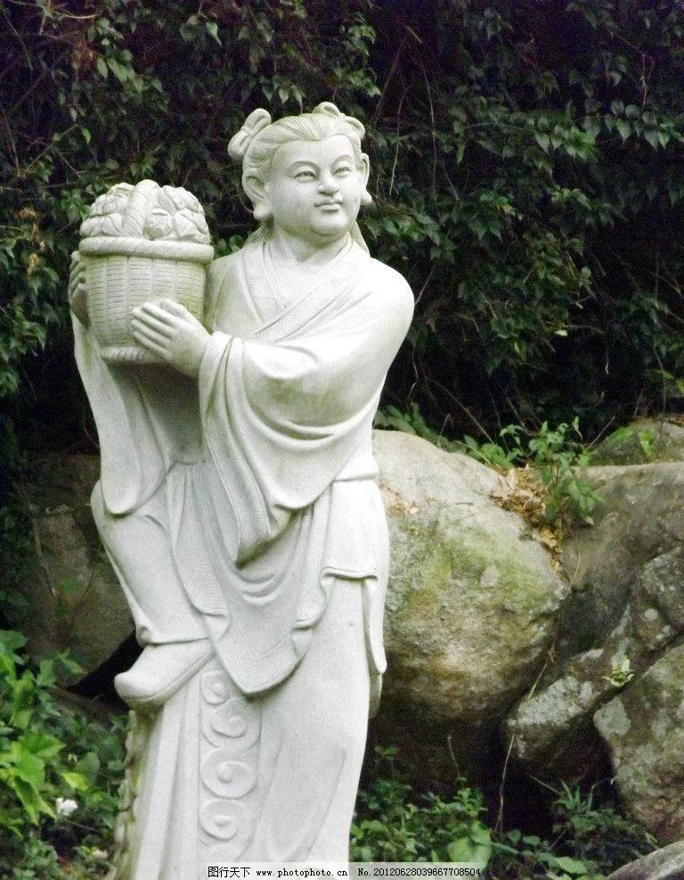 蓝采和雕塑 八仙过海雕塑 蓝采和 八仙过海 雕塑 石雕 艺术 建筑 景观