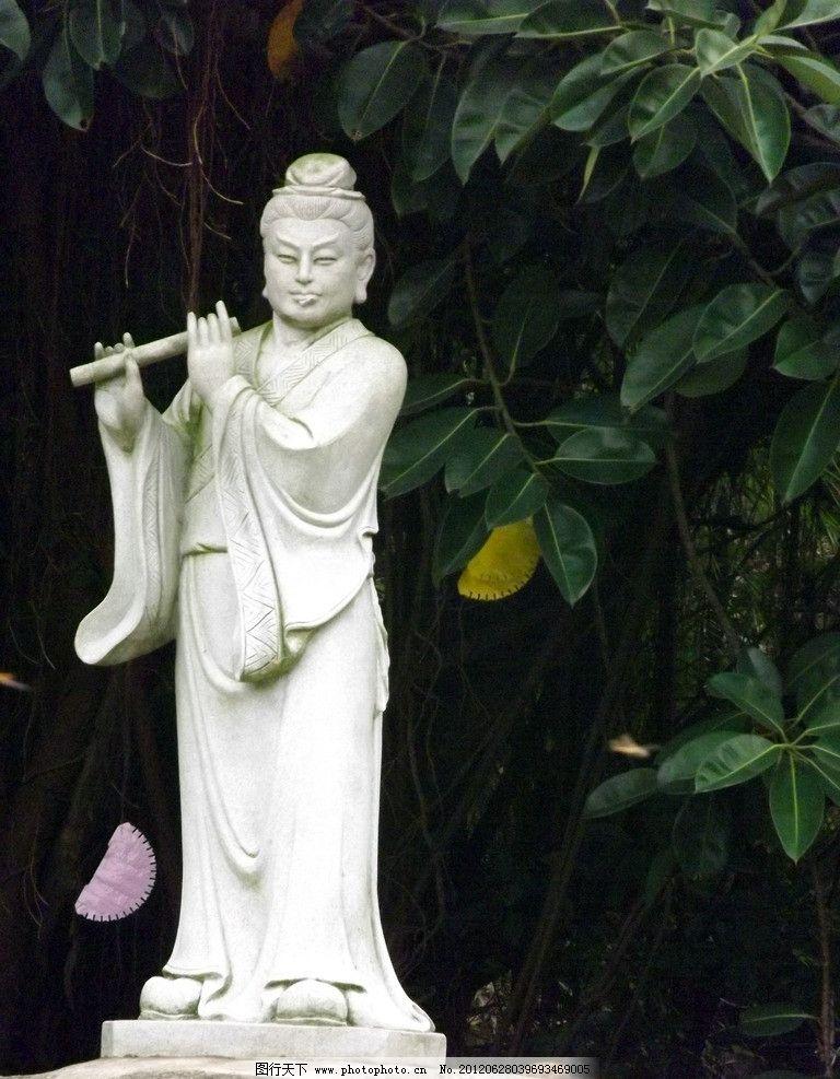 韩湘子雕像 八仙过海雕塑