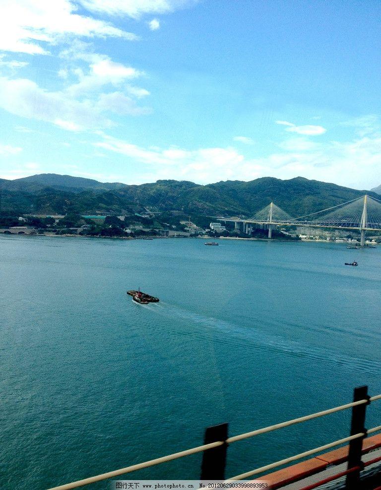 大海 港湾 岛屿 海岛 港口 海港 填海 海洋 航拍 自然风景 自然景观