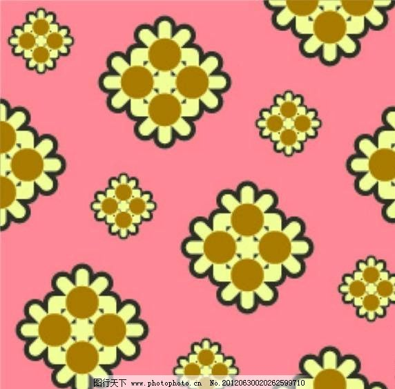花朵花纹背景素材 花朵 图标 标志 标识 符号 背景 底纹 抽象 设计 矢